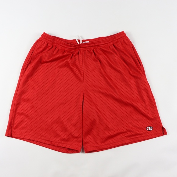 Champion Other - 90s Champion Mens Large Classic Logo Mesh Shorts